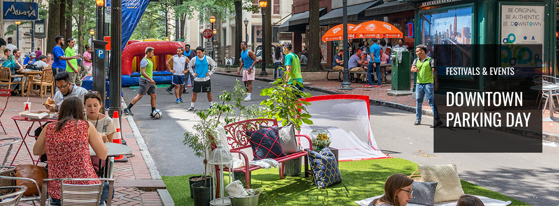Downtown Park(ing) Day