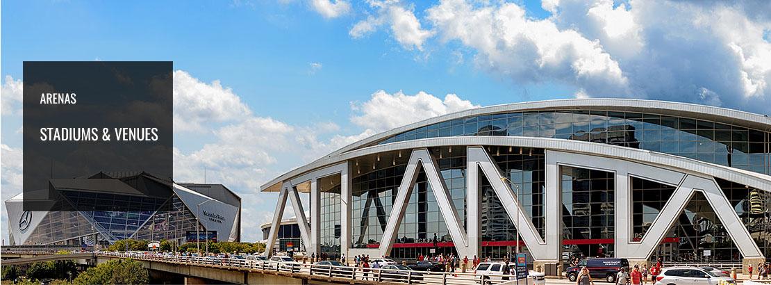 Stadiums, Arenas & Venues