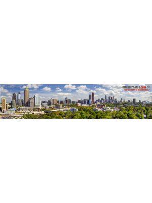 Atlanta Midtown-Downtown Skyline Panorama, 2