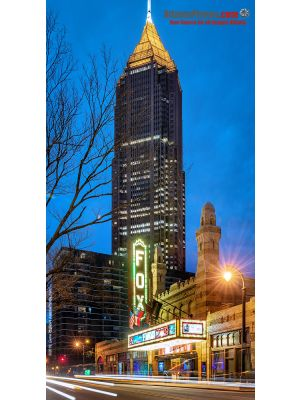 Fox Theater Exterior- Blue Hour, 2