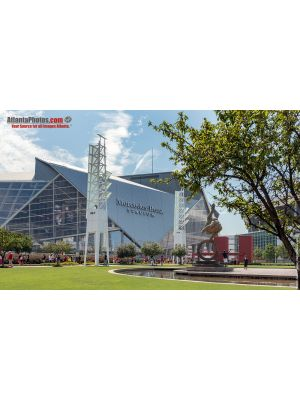 Mercedes Benz Stadium open house- Flair Across America