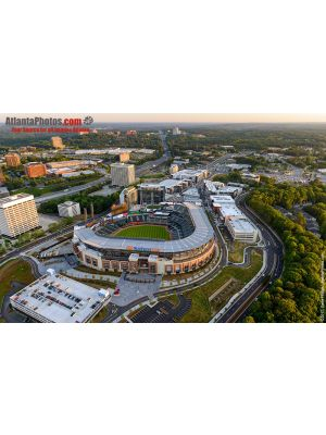 Suntrust Park Aerial- Home of the Atlanta Braves, 6