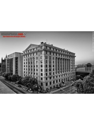 Fulton County Courthouse- B&W