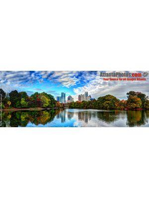 Midtown Skyline Lake- Pano