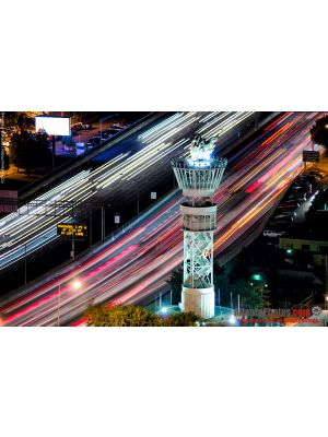 Olympic Torch- Interstate Light Trails