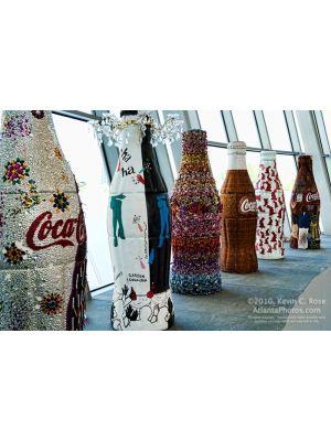 World of Coca-Cola- Giant Bottles
