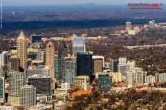 Midtown Atlanta- Aerial Winter 2020, 1